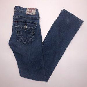 True Religion | Billy Straight Leg Denim Jeans